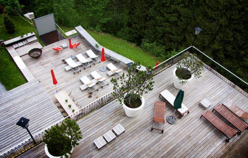 Terasse Hotel Miramonte Bad Gastein