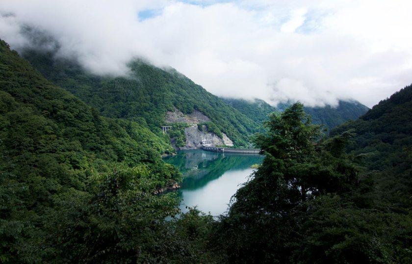 Stausee Japanische Alpen