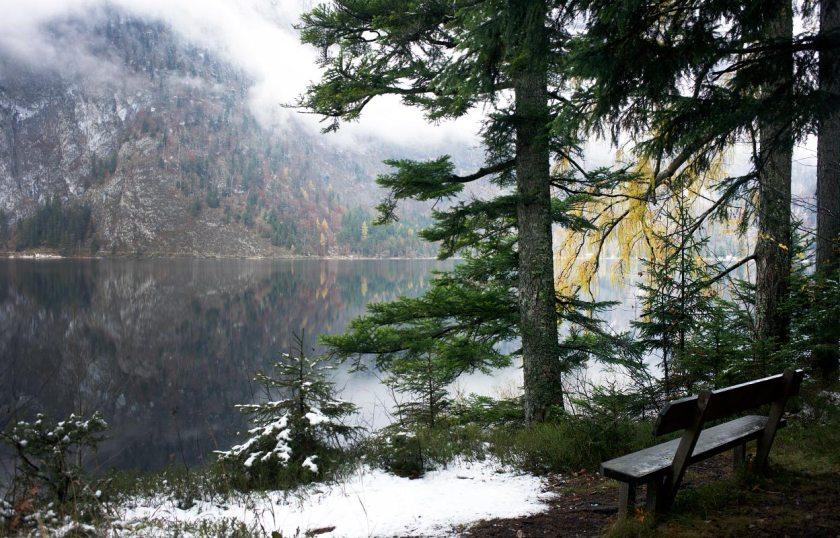 Winterromantik am Altaussee