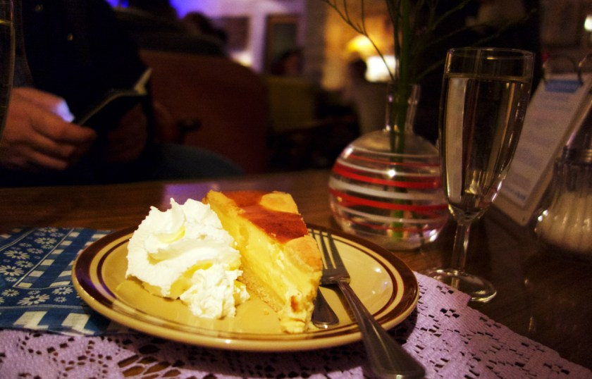 Torte im Café Vollpension in Wien