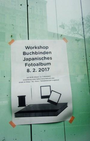 Stationary Store Sous-Bois Wien - Workshop Buchbinden