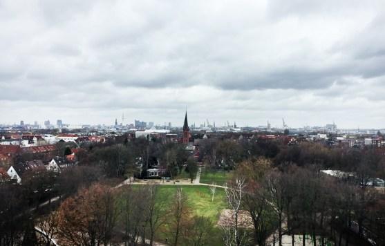 Aussicht vju - Energiebunker Hamburg
