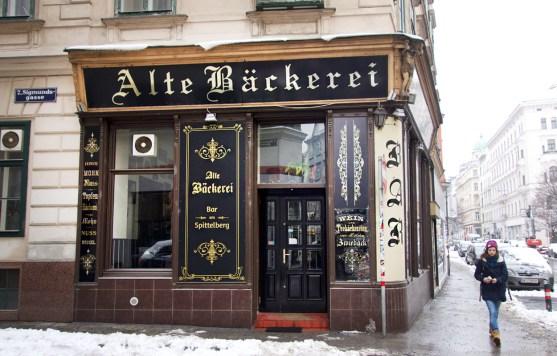 Wien Spittelberg Alte Bäckerei
