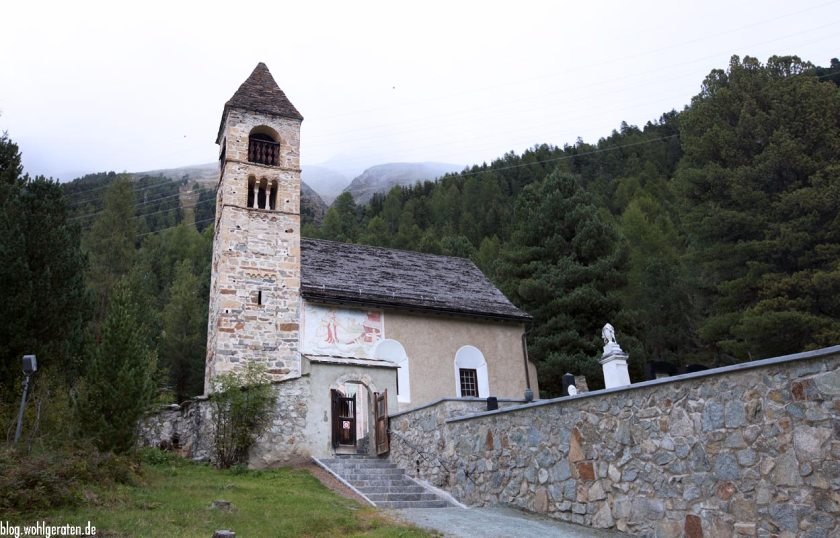Kapelle in Pontresina