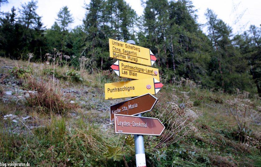 Wanderwege Pontresina