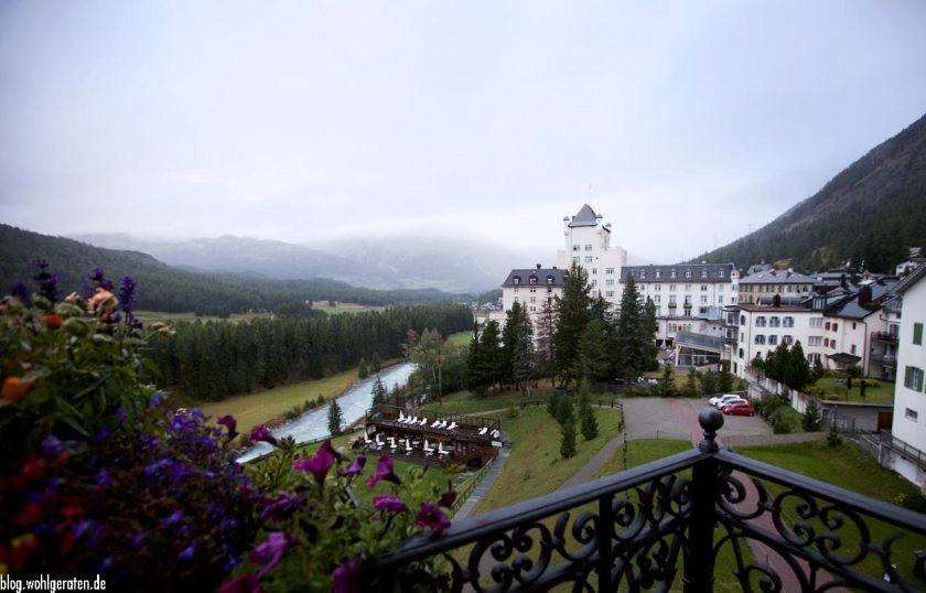Ausblick Grandhotel Kronenhof