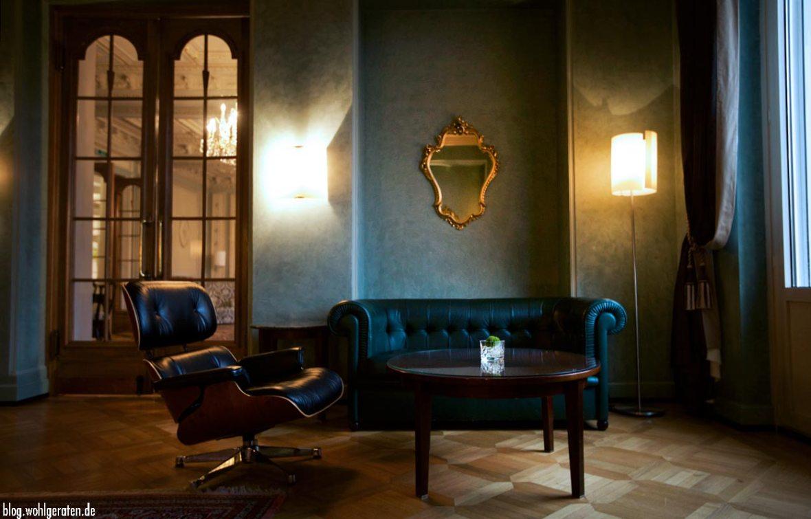 Lounge Grandhotel Kronenhof Pontresina