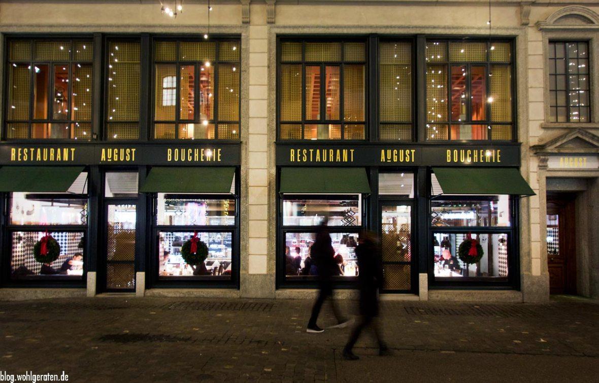 Restaurant Boucherie AuGust Zürich
