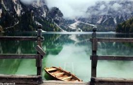 Boot am Pragser Wildsee - Südtirol