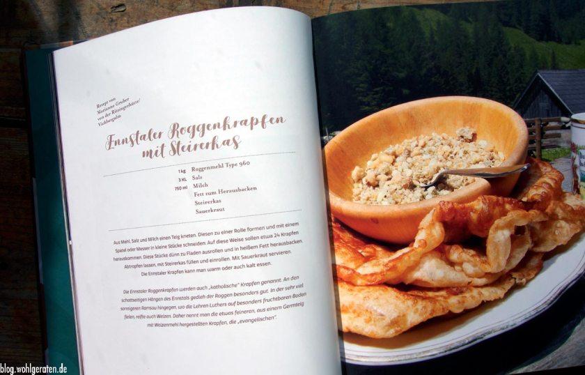 "Rezept im Almkochbuch ""Der Geschmack der Berge"""
