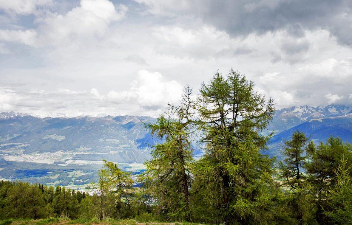 Kronplatz – Blick zum Pustertal