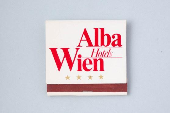 Streichholzschachtel Hotel Alba - Wien