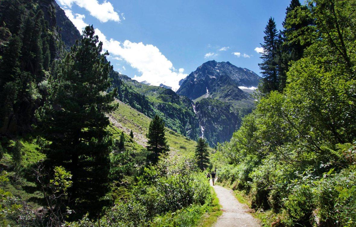 Wanderweg Stubaital Sulzenau