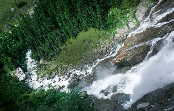 Aussichtsplattform Grawawasserfall