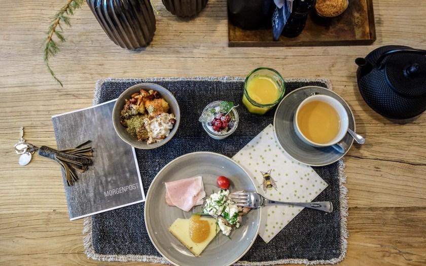 Frühstück Schönherr Haus