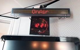 Sendestudio beim NDR - Landesfunkhaus Hamburg