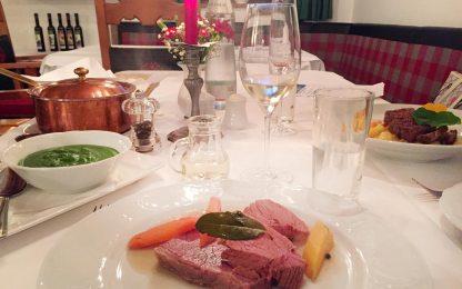 Abendessen Weitmoser Schlössl Gastein