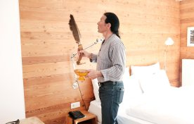 Pedro im Haus Hirt