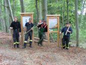 Bergwald, Patenschaft, Feuerwehr Wolfratshausen