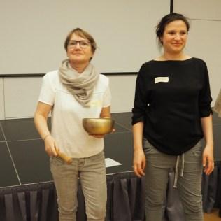 Sie führten charmant durch den Abend: Ines Lobendsten und Anika Dollinger