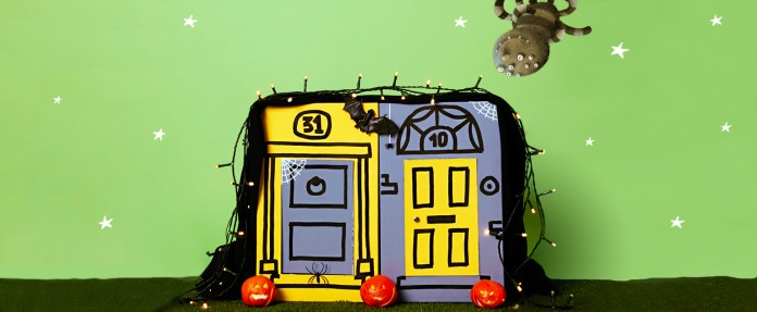 Halloween, sensory activity, surprise
