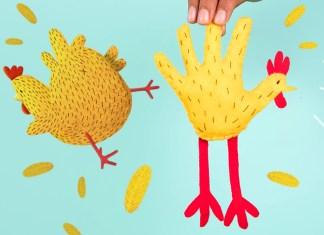 Chicken mittens header