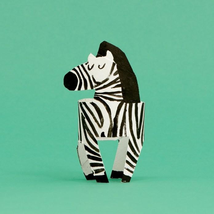 12. La zebra