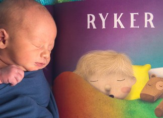 #LostInTheStory - Baby Ryker with personalised book