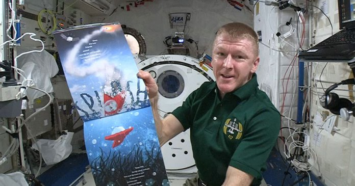 Tim Peake reading The incredible Intergalactic Journey Home