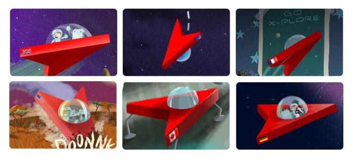 Spaceships from around the world