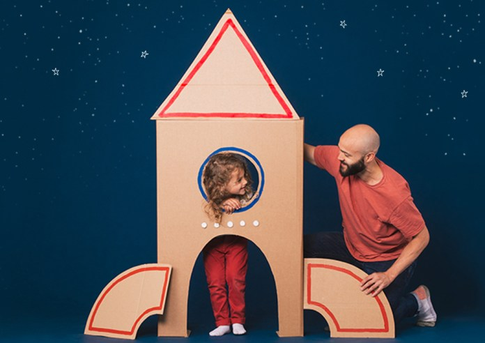 DIY space rocket