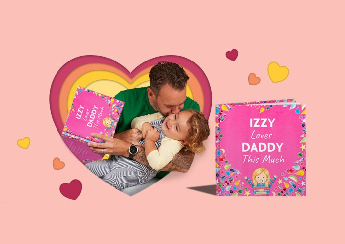 i love daddy book