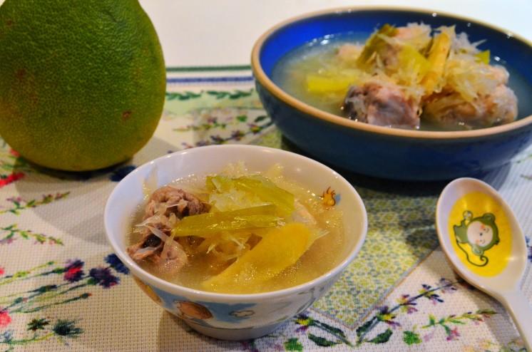 柚子雞湯5