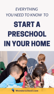 Learn exactly how to start a preschool in your home - here we lay out the ten steps to take to enroll your first family, including details on licensing, business plans, getting insurance, and more.