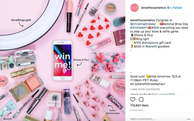 8 Amazing Examples Of Instagram Giveaways Sharethis