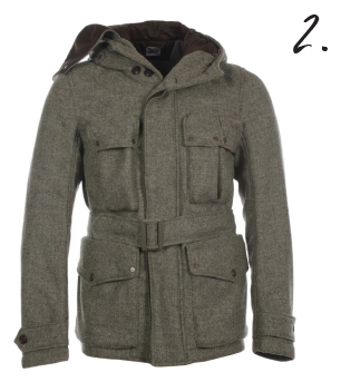 CP Company Shetland Wool Goggle Hooded Jacket