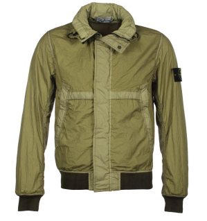 Stone Island Membrana TC Light Green Jacket