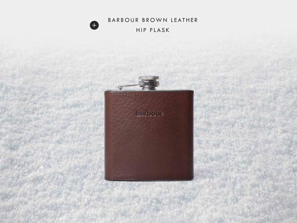 BARBOURHIPFLASK