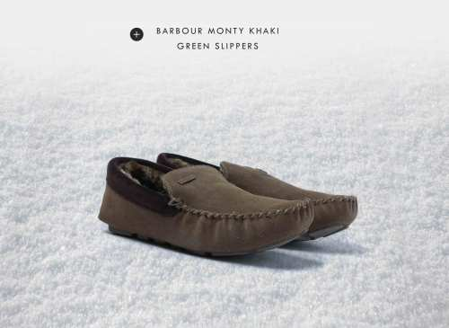 BARBOURSLIPPERS