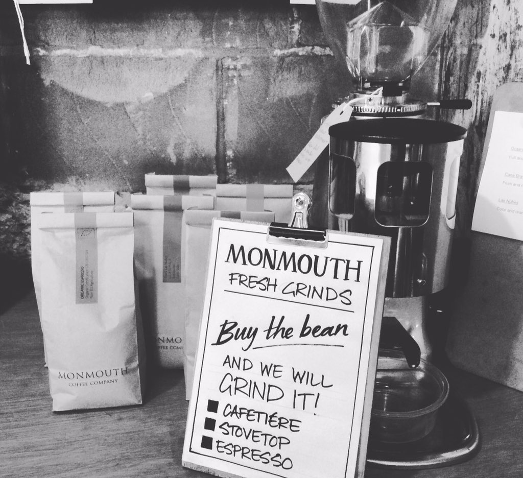 Best UK coffee producers - Monmouth Coffee