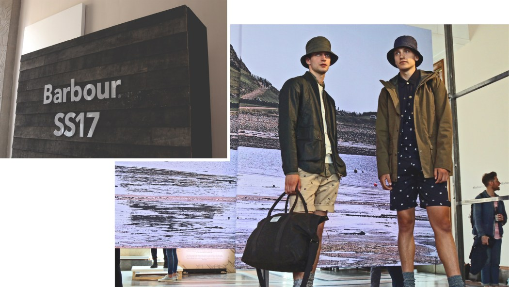 LCM / London Collection Men / Mens Fashion Week / Barbour Mens Clothing
