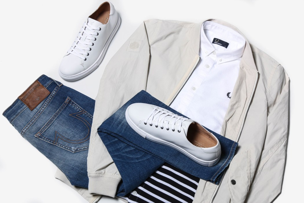 Menswear outfit grid