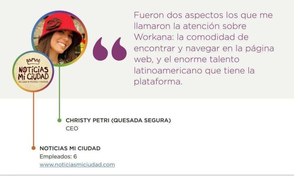 Christy Petri - contratar en Workana