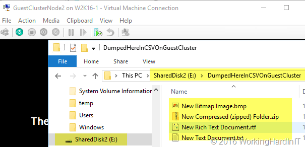 Shared VHDX In Windows 2016: VHDS and the backing storage file