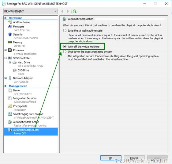 Setting up Discrete Device Assignment with a GPU - Working