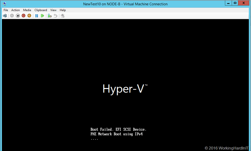 Disk2VHD on a Generation 2 VM results in an unbootable VHDX
