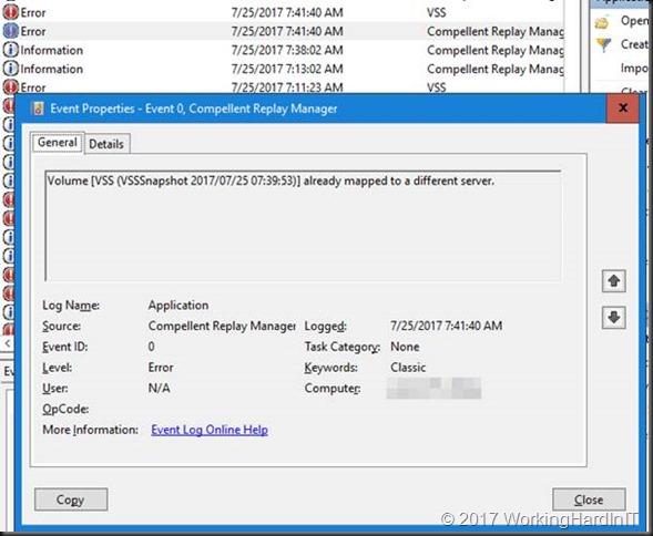 repair vss writers server 2012 r2