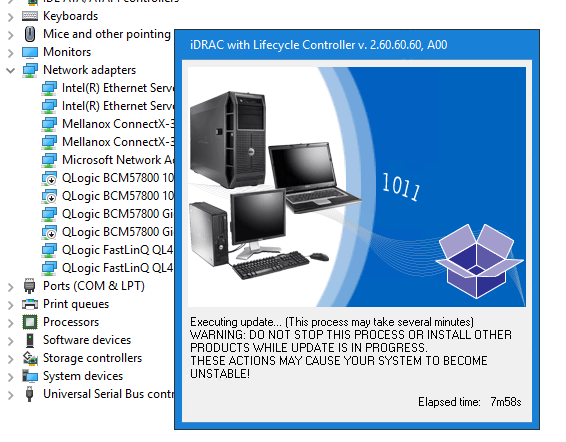 Cosmetic Issue on DELL PowerEdge servers with iDRAC firmware