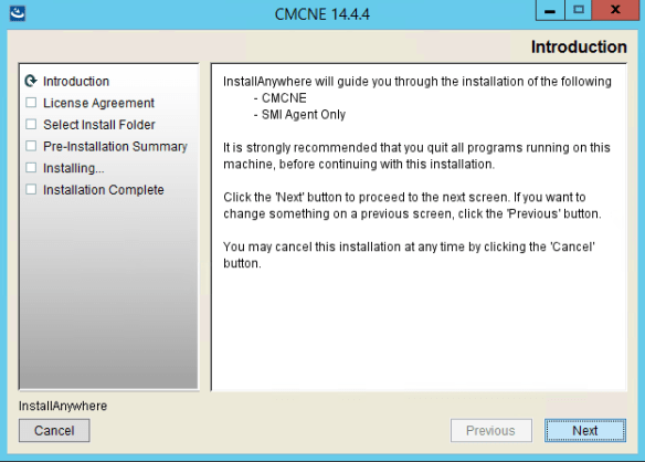 BNA 14.4.1 upgrade to DELLEMC CMCNE 14.4.4