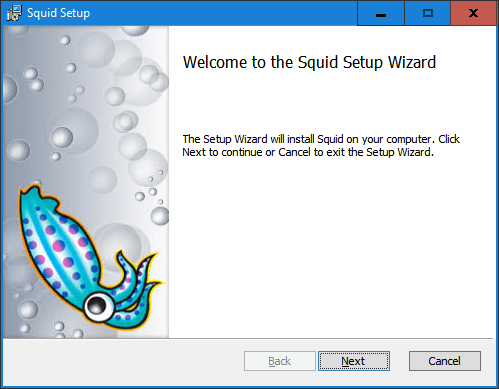 Squid for Windows and Veeam